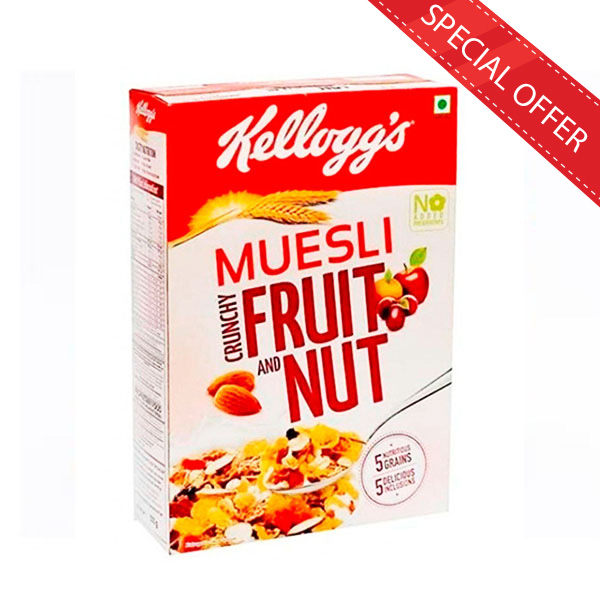 KELLOGG'S EXTRA MUESLI FRUIT & NUT - 250G - Snacks & Confectionery - in Sri Lanka