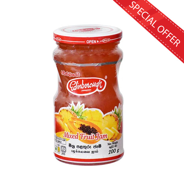 EDINBOROUGH MIXED FRUIT JAM 200G - Grocery - in Sri Lanka