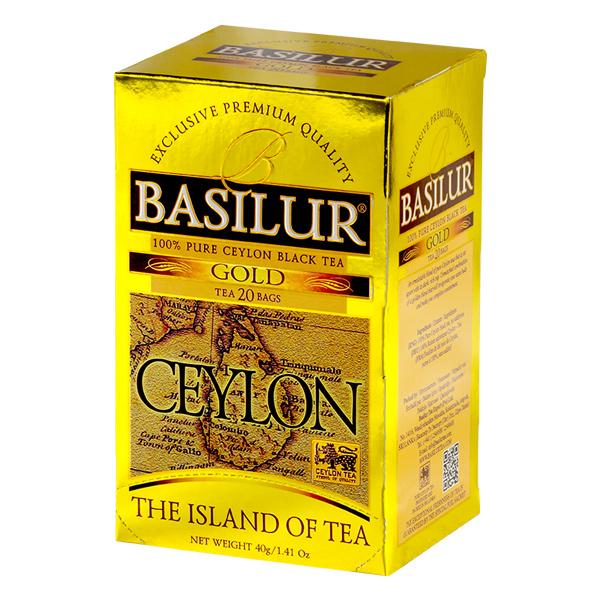 ISLAND OF TEA-TEA BAG-GOLD-2gX20ENX12 - Beverages - in Sri Lanka