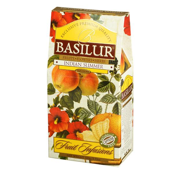 BASILUR-FRUIT INFUSIONS-INDIAN SUMMER-24s 100g - Beverages - in Sri Lanka