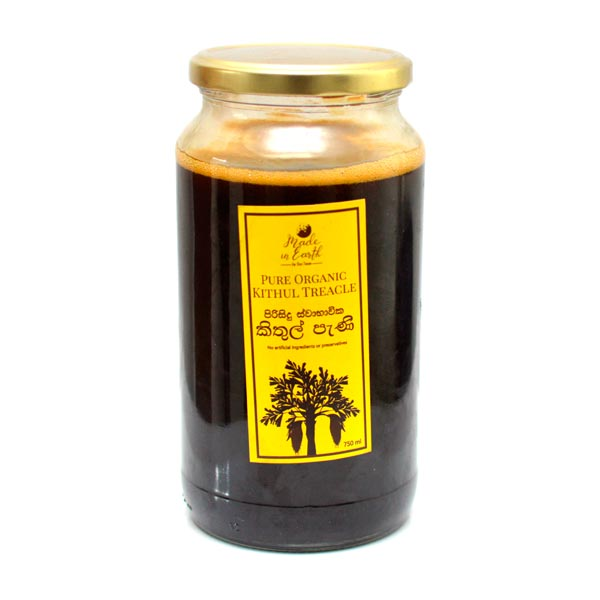 ECO TEAM PURE NATURAL KITHUL TREACLE  750ML - Snacks & Confectionery - in Sri Lanka