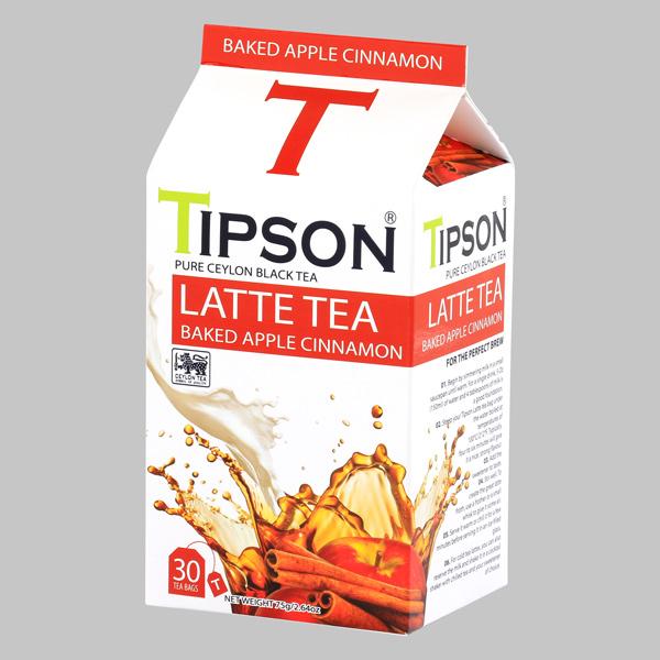 TIPSON-LATTE TEA-TEA BAG-BAKED APPLE CINNAMON-30s 2.5g - Beverages - in Sri Lanka