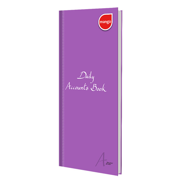RATHNA DAILY ACCOUNTS BOOK A4 LONG 200 PAGES - Note Books - in Sri Lanka