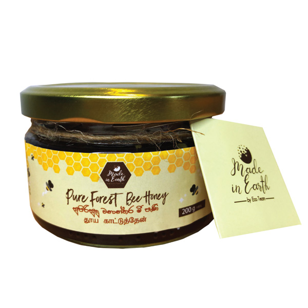 ECO TEAM PURE FOREST BEE HONEY  200G - Snacks & Confectionery - in Sri Lanka