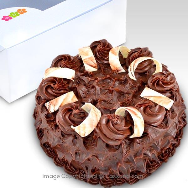 CHOCOLATE HARLEM GATEAU-1 KG (2.2 lbs) - Lassana Cakes - in Sri Lanka