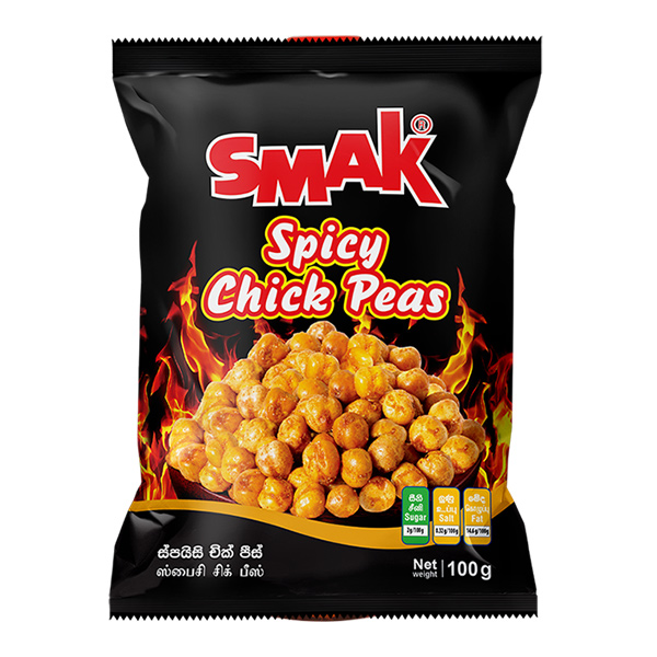 SMAK CHICK PEAS - 100G - Snacks & Confectionery - in Sri Lanka