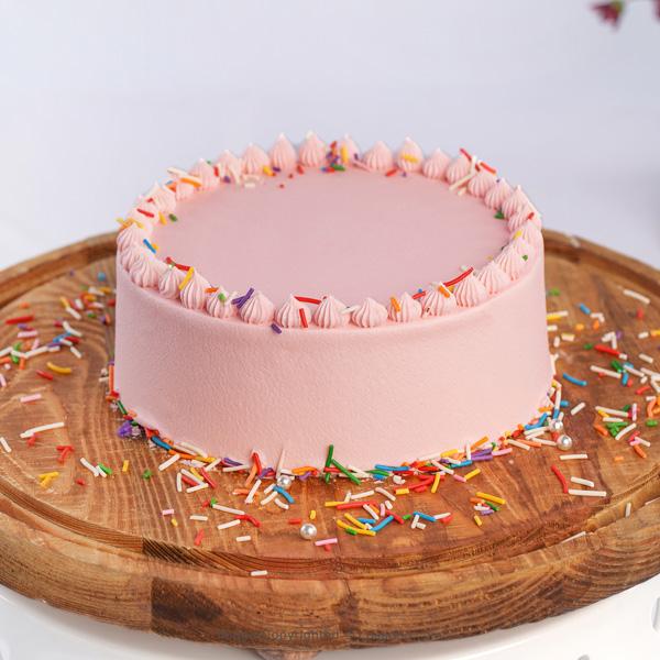 THULIAN PINK CAKE - 500g (1.1lbs) - Lassana Cakes - in Sri Lanka