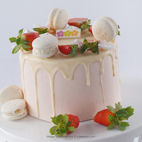 BERRY DREAM RIBBON CAKE 1KG (2.2LBS) - Lassana Cakes - in Sri Lanka