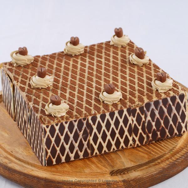 WHITE CHOCOLATE MOCHA CAKE – 1.3kg (2.9lbs) - Lassana Cakes - in Sri Lanka
