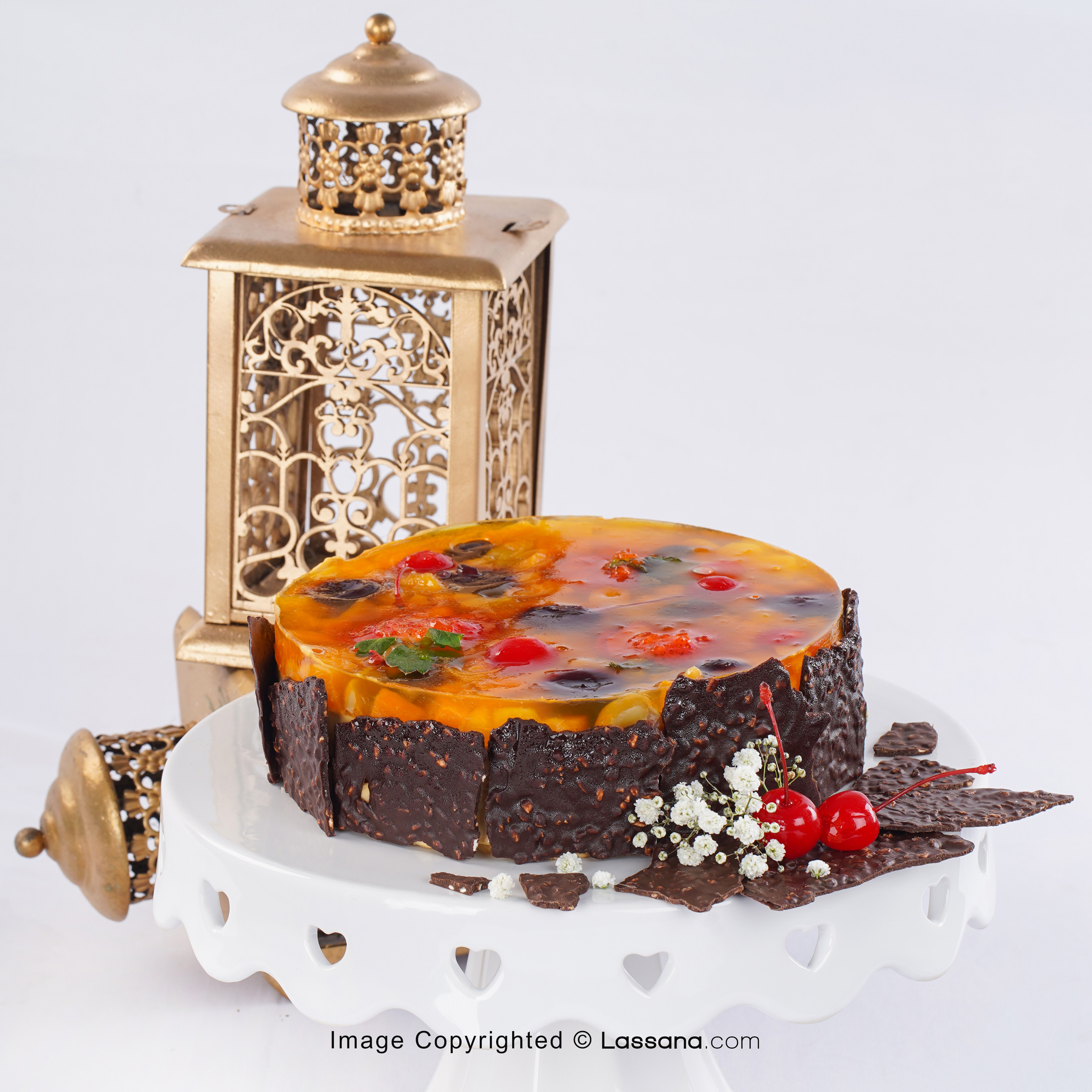 FRUITY JELLO CAKE 1.2KG (2.6Lbs) - Lassana Cakes - in Sri Lanka