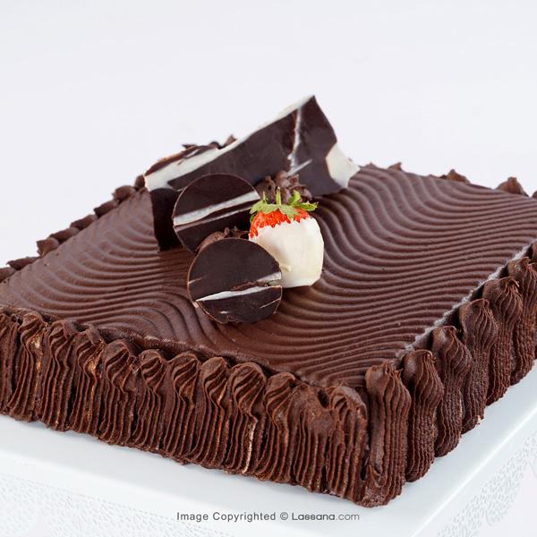 RICH CHOCOLATE GANACHE CHIP CAKE - 1.1kg (2.4lbs) - Lassana Cakes - in Sri Lanka