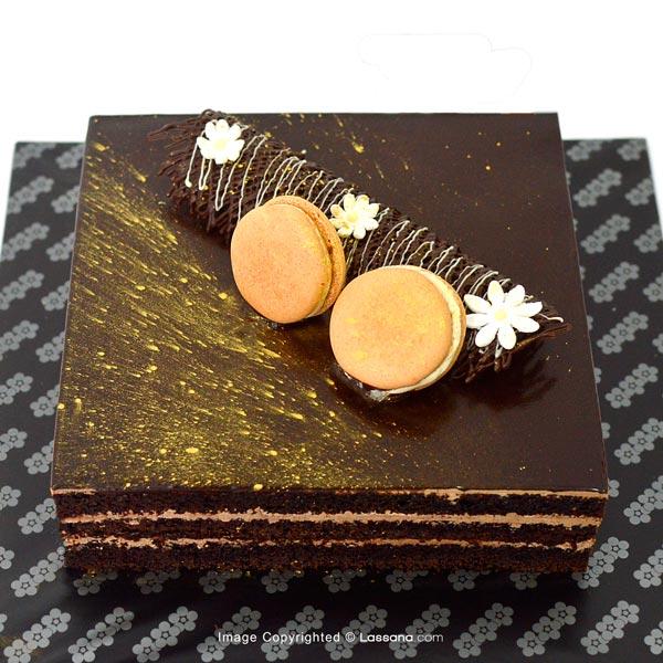 Black and Moist Cake- 1Kg (2.2lbs) - Lassana Cakes - in Sri Lanka