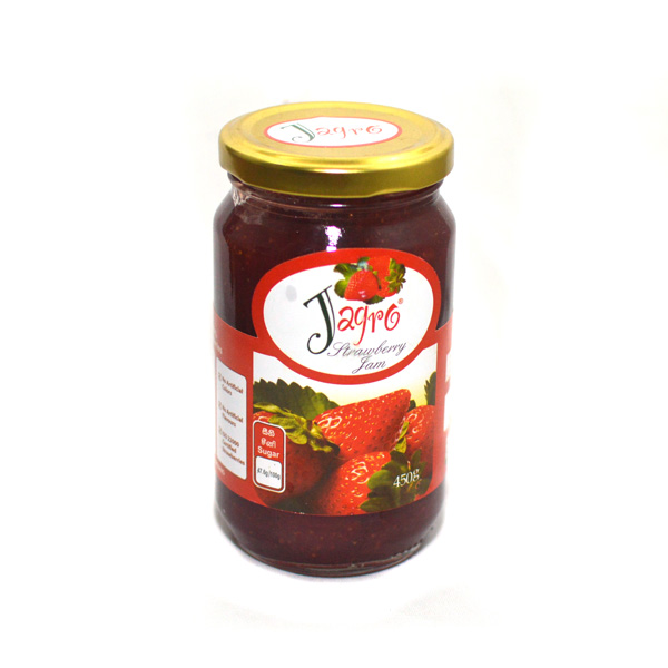 JAGRO STRAWBERRY JAM BOTTLE -  450G - Grocery - in Sri Lanka