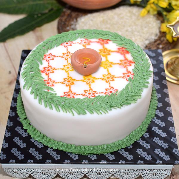 LASSANA THAI PONGAL CAKE (EGGLESS) -1.3KG (2.8LBS) - Lassana Cakes - in Sri Lanka