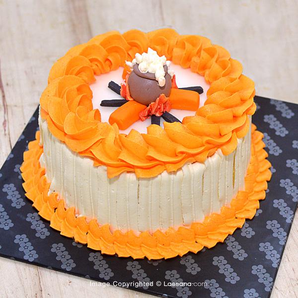 BLISSFUL PONGAL – EGGLESS VANILLA CAKE -  750G (1.6LBS) - Lassana Cakes - in Sri Lanka