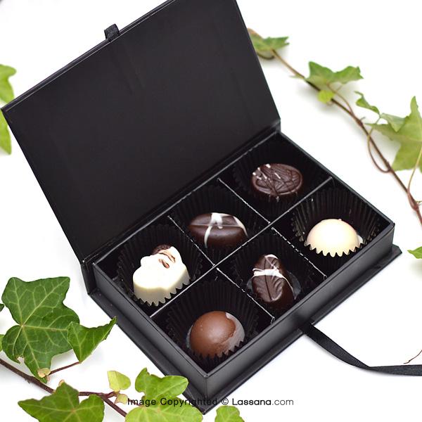 Chocolates by Lassana - 6 Pcs Box - Chocolates & Cookies - in Sri Lanka