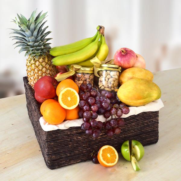 BOUNTIFUL NEW YEAR FRUIT BASKET - Fruit Baskets - in Sri Lanka