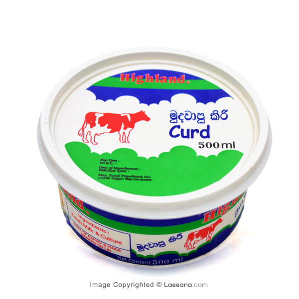 HIGHLAND CURD - 500ml - Grocery - in Sri Lanka