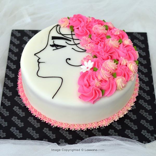 A PERFECT WOMAN -1Kg ( 2.2lbs ) - Lassana Cakes - in Sri Lanka