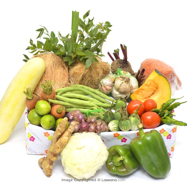 HEALTH HAMPER - SMALL - Vegetables & Fruits - in Sri Lanka