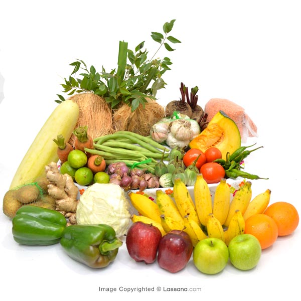HEALTH HAMPER - LARGE - Vegetables & Fruits - in Sri Lanka