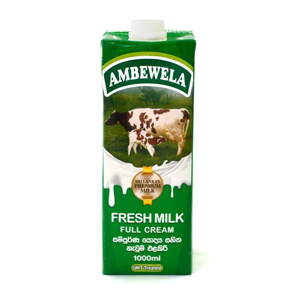 AMBEWELA FRESH MILK (1LT) - Grocery - in Sri Lanka