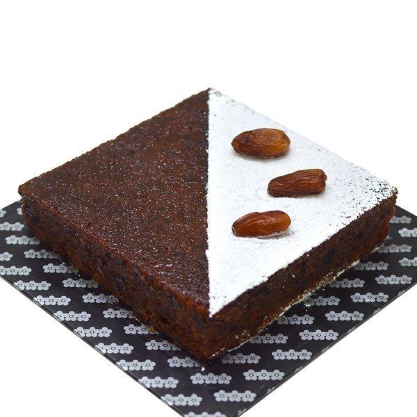 SQUARE DATE CAKE 1kg (2.2lbs) - Lassana Cakes - in Sri Lanka