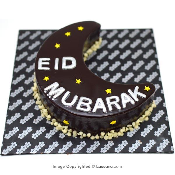 EID MUBARAK MOON CAKE - 900g - Lassana Cakes - in Sri Lanka