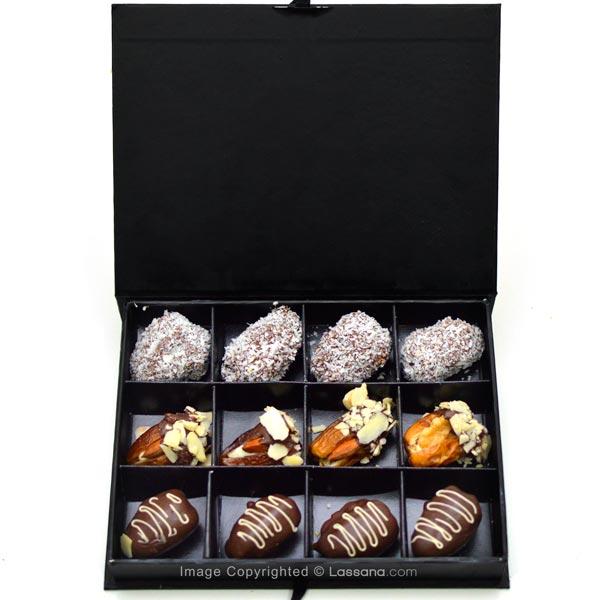 ASSORTED STUFFED DATES - 12Nos - Chocolates & Cookies - in Sri Lanka