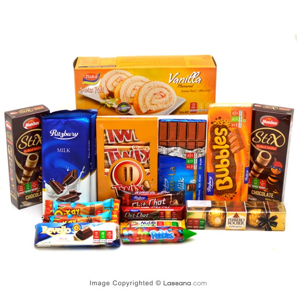 SWEET ASSORTMENT PACK - LARGE - Snacks & Confectionery - in Sri Lanka