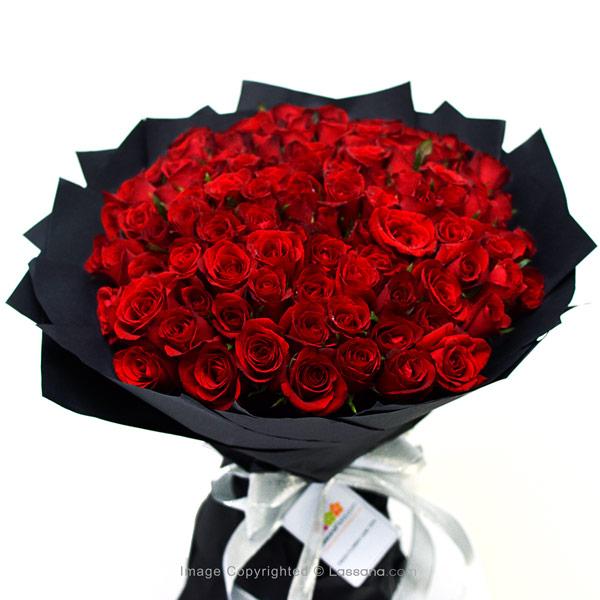 SUPREME LOVE - 100 RED ROSES - Love & Romance - in Sri Lanka