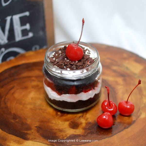 BLACK FOREST IN A JAR - Lassana Cakes - in Sri Lanka