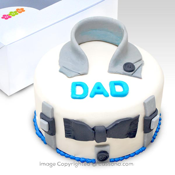 Dad is my everything Cake 500g (Chocolate )(1.1 lbs) - Lassana Cakes - in Sri Lanka