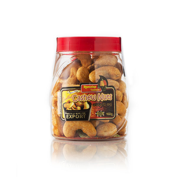 Devilled Cashew Nuts 160g - Bottle - Snacks & Confectionery - in Sri Lanka
