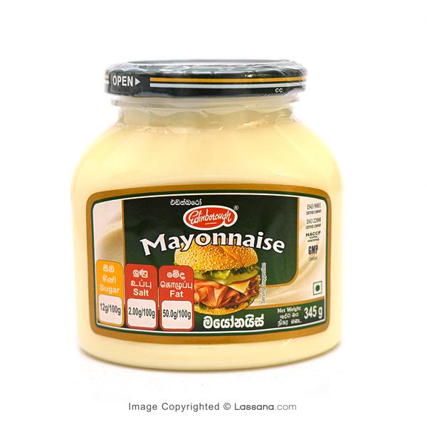 EDINBOROUGH MAYONNAISE - 345g - Grocery - in Sri Lanka