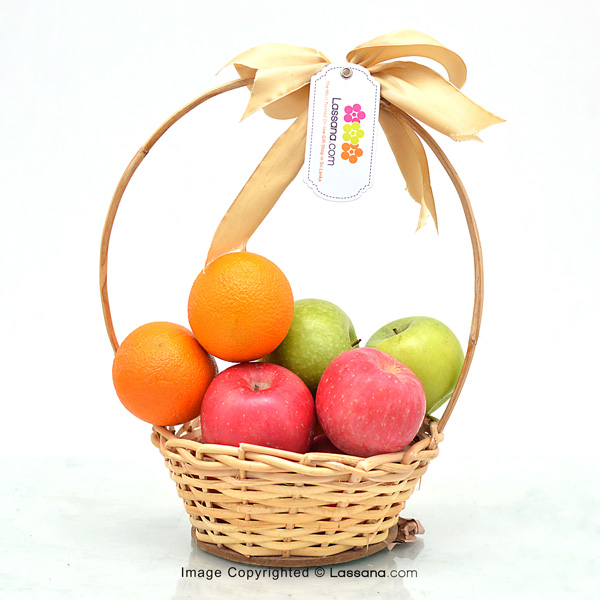 SIMPLY CARING (With Flower Bunch) - Fruit Baskets - in Sri Lanka