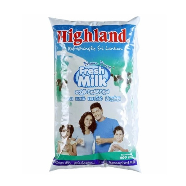 HIGHLAND FRESH MILK (FULL CREAM) - 900ml - Grocery - in Sri Lanka