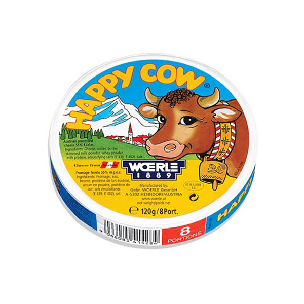 HAPPY COW CHEESE ROUND BOX PORTION (120G) - Grocery - in Sri Lanka