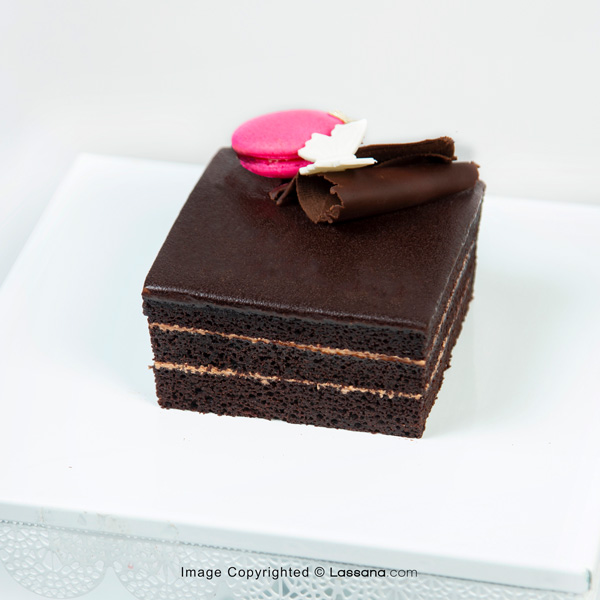 MINI CHOCOLATE MACAROON CAKE - 350g(0.7lbs) - Lassana Cakes - in Sri Lanka