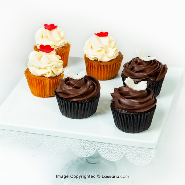 BETTER TOGETHER CUPCAKE 06PCS - Lassana Cakes - in Sri Lanka