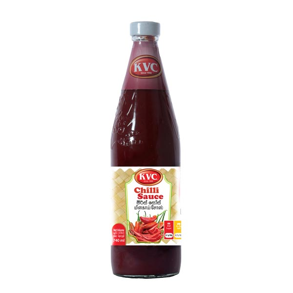 KVC SAUCE - CHILLI 740ML - Grocery - in Sri Lanka