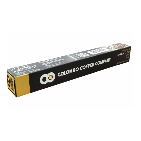 NESPRESSO COMPATIBLE CAPSULE FILLED WITH  LAVAZZA COFFEE 10S 5G - Beverages - in Sri Lanka
