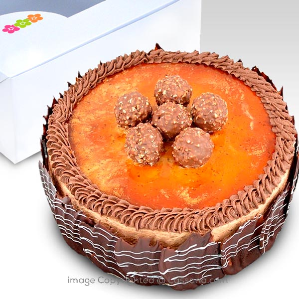 MILK CHCOLATE ALABAMA GATEAU-1 KG (2.2 lbs) - Lassana Cakes - in Sri Lanka