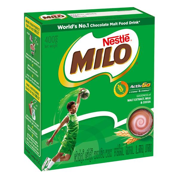MILO Active GO Bag in Box - 400g - Beverages - in Sri Lanka