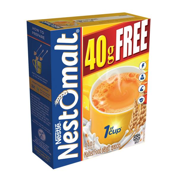 NESTOMALT MALTED BEVERAGE 400G + 40G FREE - Beverages - in Sri Lanka