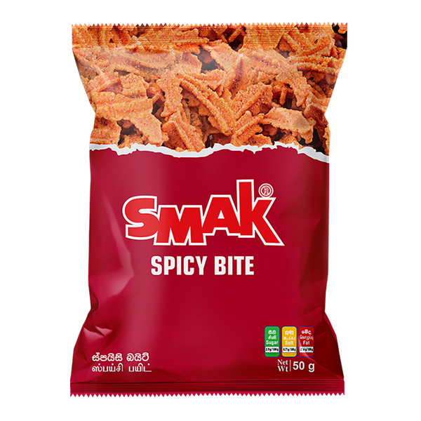 SMAK SPICY BITE - 100G - Snacks & Confectionery - in Sri Lanka