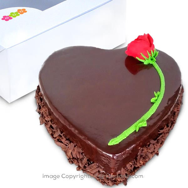 SPECIALLY FOR YOU FUDGE CAKE - 1kg (2.2 lbs) - Lassana Cakes - in Sri Lanka