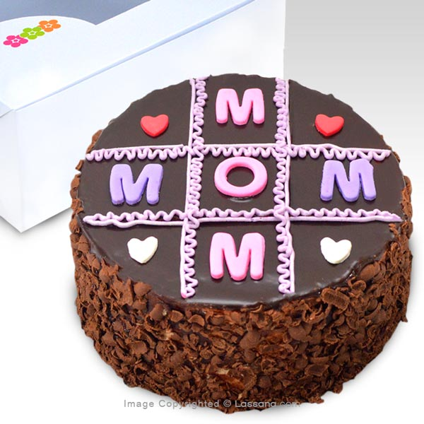 TO MY SWEET MUM CAKE  -  500g (1.1 lbs) - Lassana Cakes - in Sri Lanka