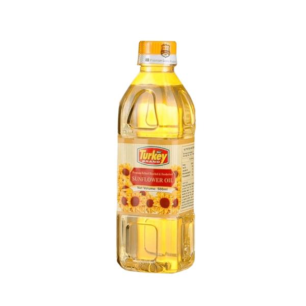 TURKEY SUNFLOWER OIL - 500 ML - Grocery - in Sri Lanka