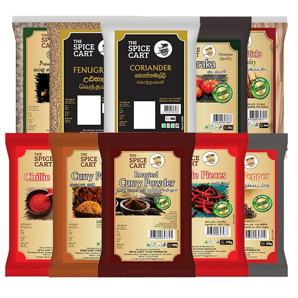 ESSENTIAL SPICE PACK - LARGE - Essentials Packs - in Sri Lanka